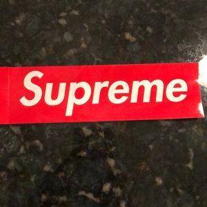 Other - Supreme sticker!